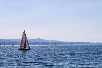 Boot auf dem Bodensee