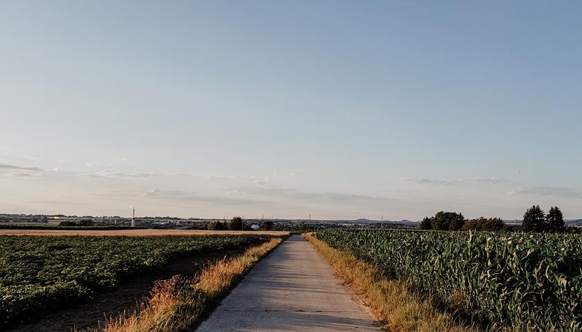 Weg mit Ausblick